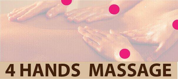 FOUR HANDS MASSAGE
